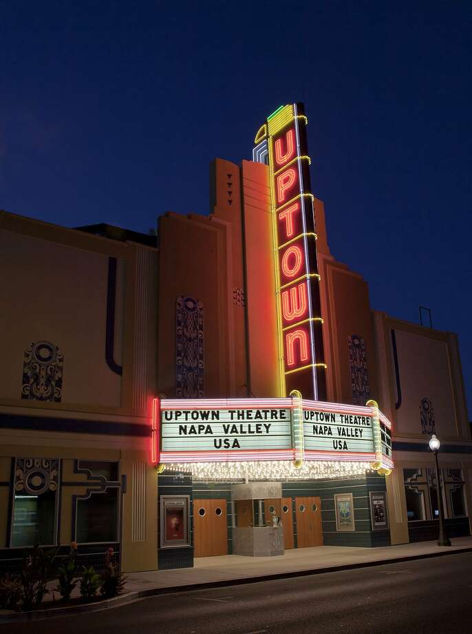 The Uptown Theatre in Napa canceled its Take Me to the River performance on Friday, Oct. 13, and postponed a pair of concerts with Boz Scaggs, a Napa resident and owner of fire-threatened Scaggs Vineyards, pushing them from next week to April 4-5. Photo: Mitchell Glotzer