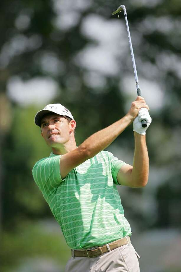 CROMWELL, CT - JUNE 24:  Padraig Harrington of Ireland hits a shot from the fairway during the first round of the Travelers Championship held at TPC River Highlands on June 24, 2010 in Cromwell, Connecticut.  (Photo by Michael Cohen/Getty Images) *** Local Caption *** Padraig Harrington Photo: Michael Cohen, Getty Images / 2010 Getty Images