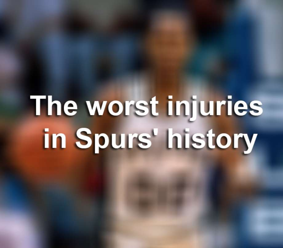 7fcb5b57b The Worst injuries in Spurs history - San Antonio Express-News