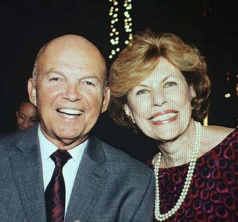 A family photo of Carmen Caldentey Berriz, left, amd Armando Berriz, right. Carmen Caldentey Berriz died on the morning of October 9, 2017, after battling against fire, dense smoke, and blowing embers for several hours in a swimming pool in Santa Rosa with her husband of 55 years, Armando A. Berriz. Armando Berriz survived the night but was severely burned during the ordeal. Photo: Courtesy Berriz Family / Courtesy Berriz Family