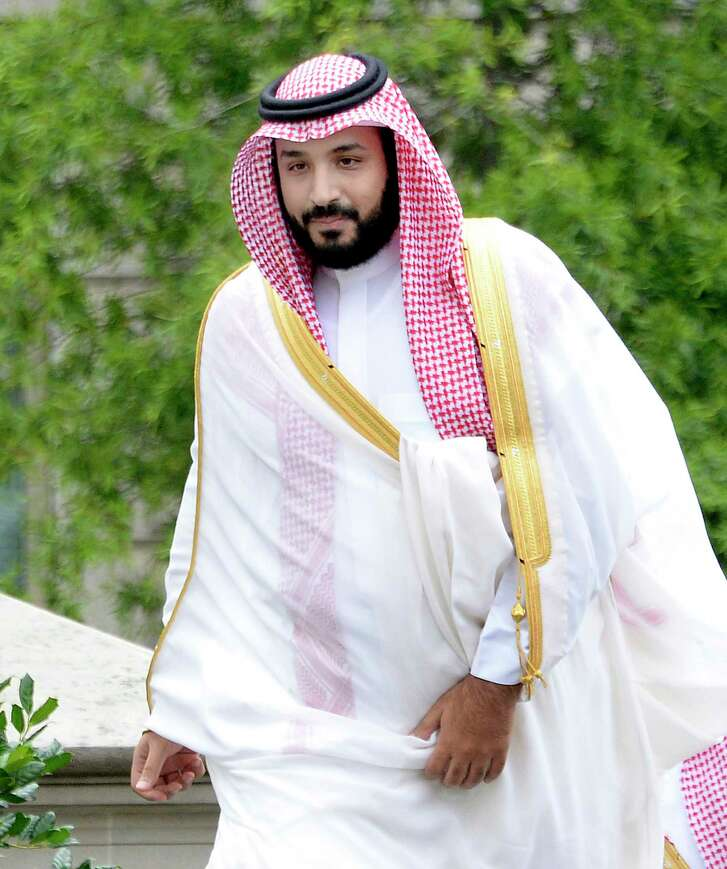 Mohammed bin Salman of Saudi Arabia arrives at the White House to attend a meeting with President Barack Obama on June 17, 2016, in Washington, D.C. S(Olivier Douliery/Abaca Press/TNS)