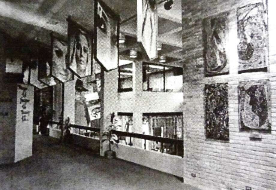 The exhibitions inside the Woman's Pavilion during HemisFair '68 paid tribute to women in the areas of fashion, art, science and education. Photo: Courtesy Sherry Kafka Wagner