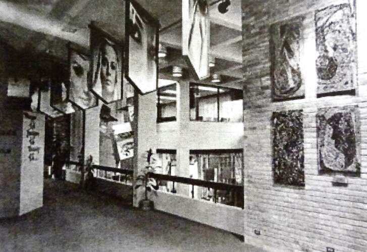 The exhibitions inside the Woman's Pavilion during HemisFair '68 paid tribute to women in the areas of fashion, art, science and education.