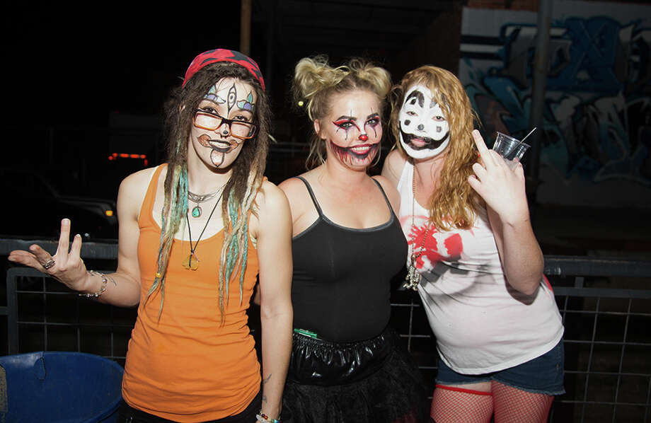 """Juggalos, juggalos everywhere. Alamo City Music Hall was filled as fans packed it in for """"The Great Milenko"""" 20 Year Tour, and Insane Clown Posse Friday night, Oct. 13, 2017. Photo: B Kay Richter For MySA"""