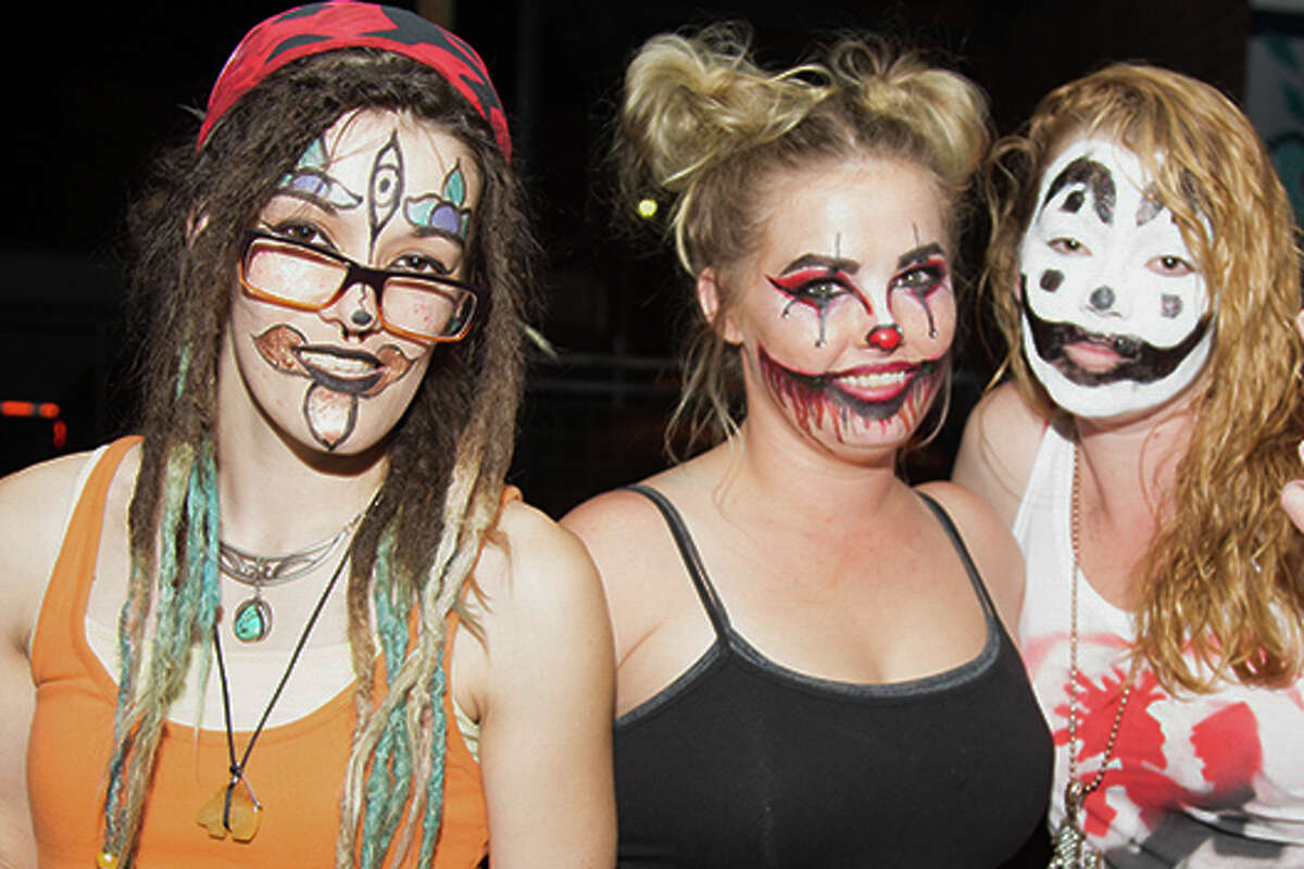 "Juggalos, juggalos everywhere. Alamo City Music Hall was filled as fans packed it in for ""The Great Milenko"" 20 Year Tour, and Insane Clown Posse Friday night, Oct. 13, 2017."