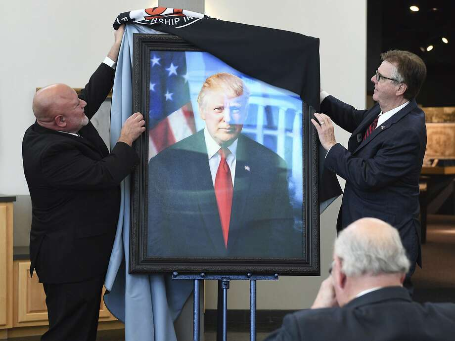 President Donald TrumpServed: 2017 to present Photo: Mark Sterkel|Odessa American, Associated Press
