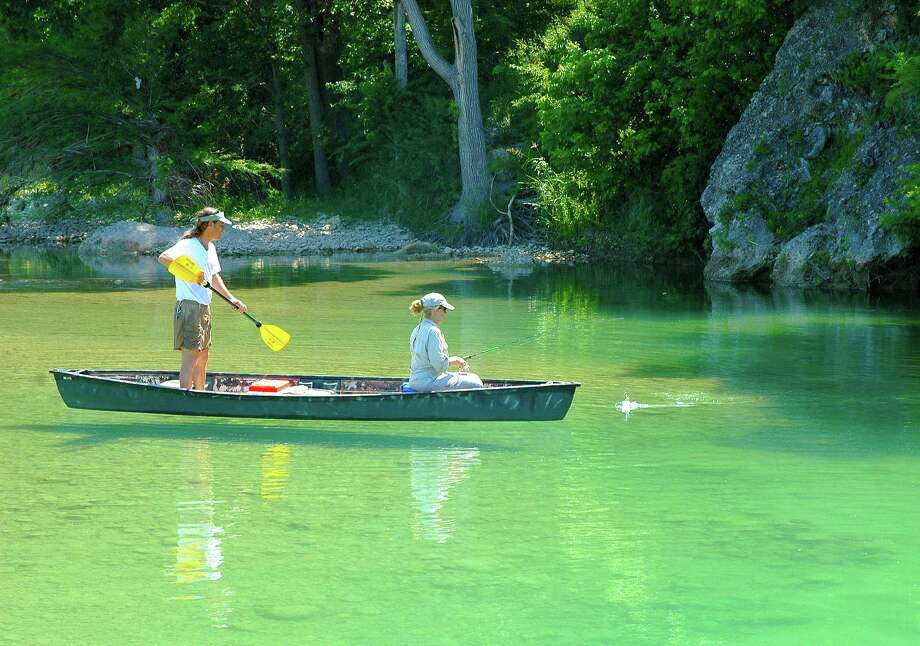 October through late November is prime time to float and fish the spring-fed rivers of central Texas as a wet summer and early autumn have the waterways holding good flows and producing excellent light-tackle fishing. Photo: Shannon Tompkins