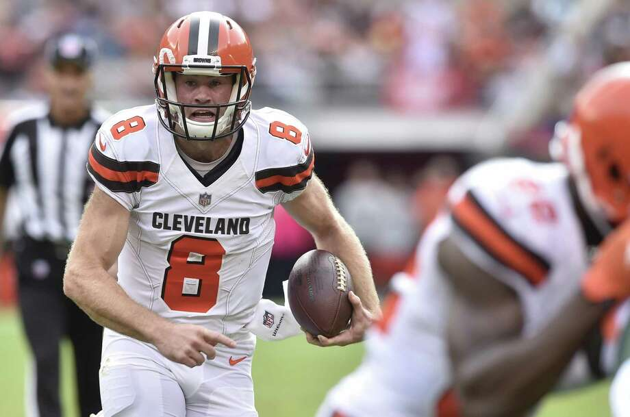 Kevin Hogan is slated to get the start for the Browns this week against the Texans. Photo: David Richard / Associated Press / FR25496 AP
