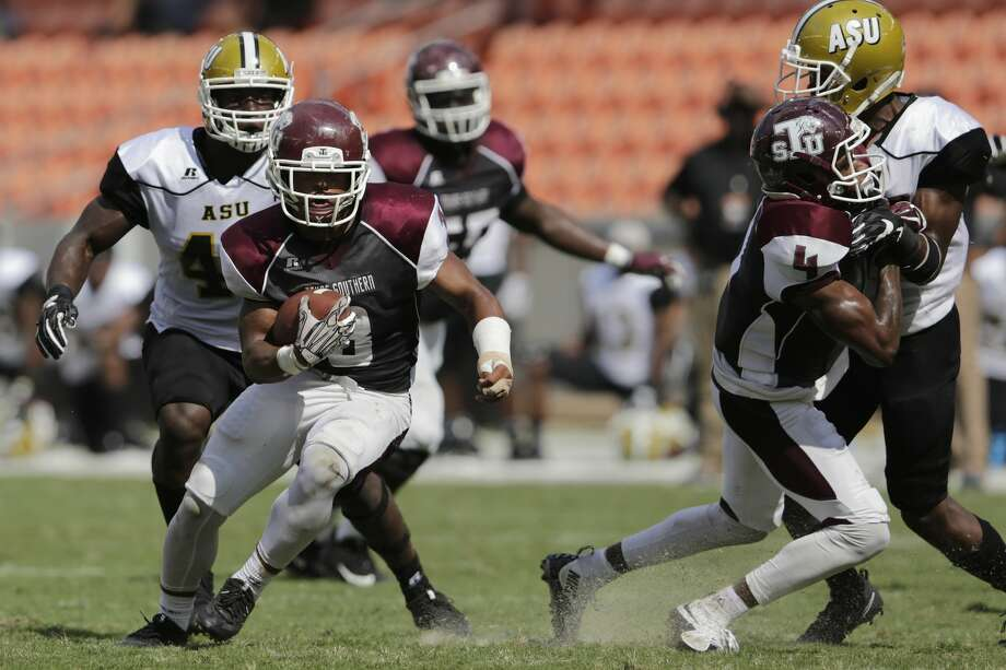 Texas Southern is seeking its first victory on Saturday when it faces Mississippi Valley State on the road. Photo: Tim Warner/For The Chronicle