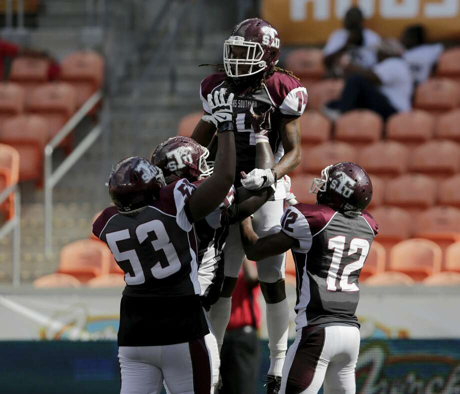 Coming off its first victory, Texas Southern hopes to build some momentum this week when it plays host to Southern at BBVA Compass Stadium. Photo: Tim Warner/For The Chronicle
