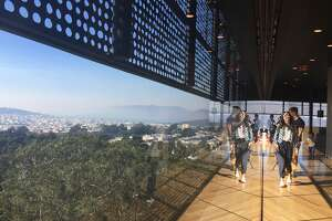 The de Young Museum is one of several locations in SF and around the Bay Area that are opening its doors to those seeking clean air amid a wave of hazardous air quality caused by wildfires in the North Bay.