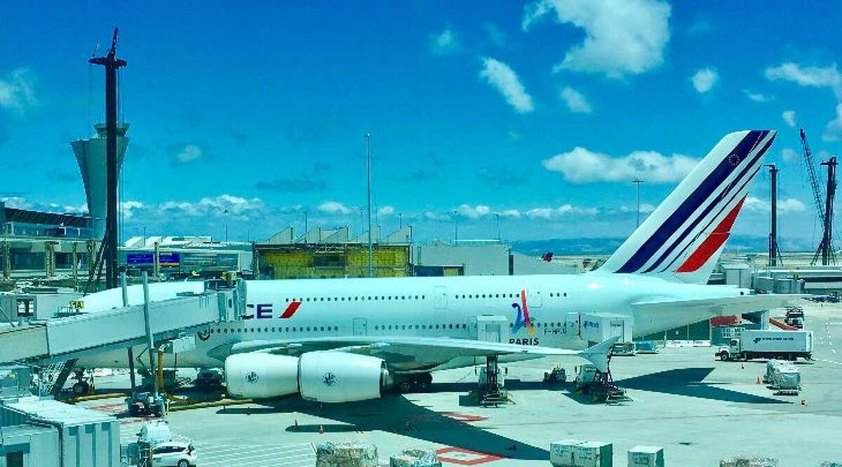 Air France flies an Airbus A380 between San Francisco and Paris during summer months(Photo: Jason Vaudrey)