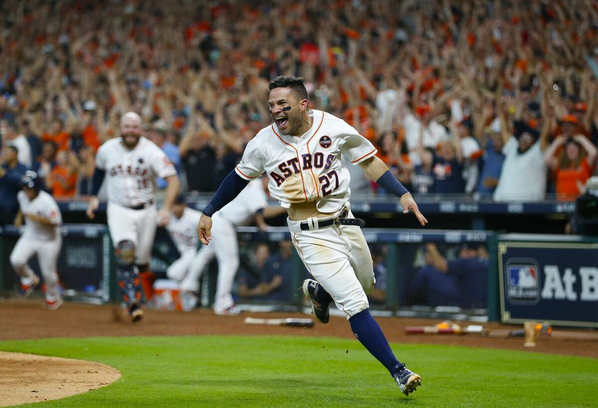 What is it about Jose Altuve? Something built the way he's built should not be able to do the things he does, but he's the best ballplayer in the world.
