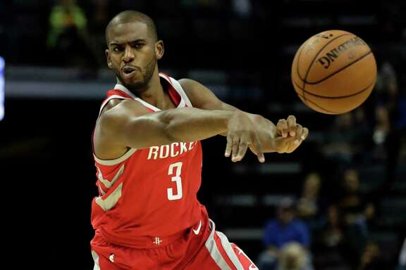 Newest Rockets guard Chris Paul is still adjusting to the team's offense, a task made more difficult by him missing two of its final three preseason games.