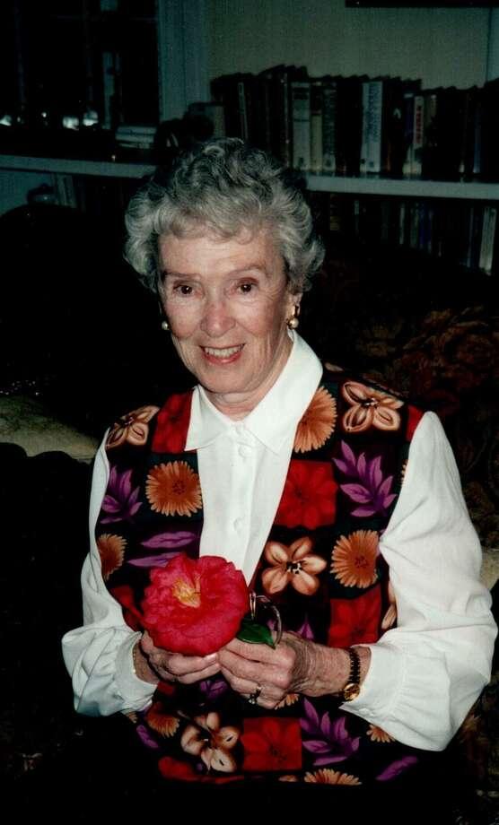 Dorothy Robbins, Monday obit, for Oct. 16, 2007 Photo: Courtesy / Courtesy