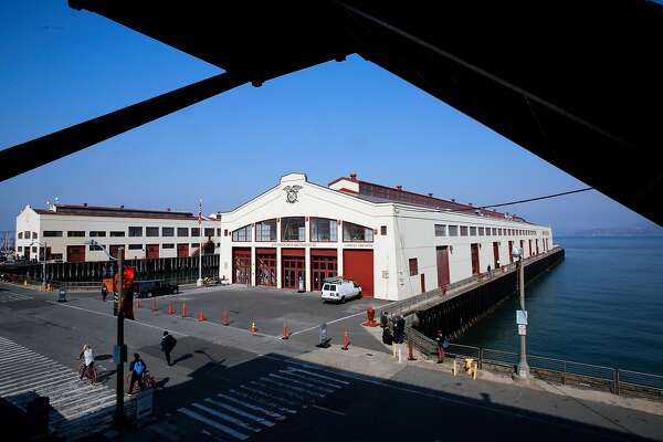 The new home of San Francisco Art Institute at Pier 2 in Fort Mason in San Francisco, as seen on Friday October 13, 2017.