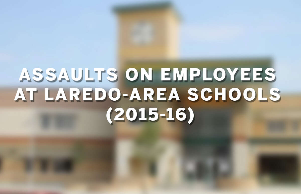 Click through the sildeshow to see Laredo-area schools where assaults on school employees were reported from 2015-2016.