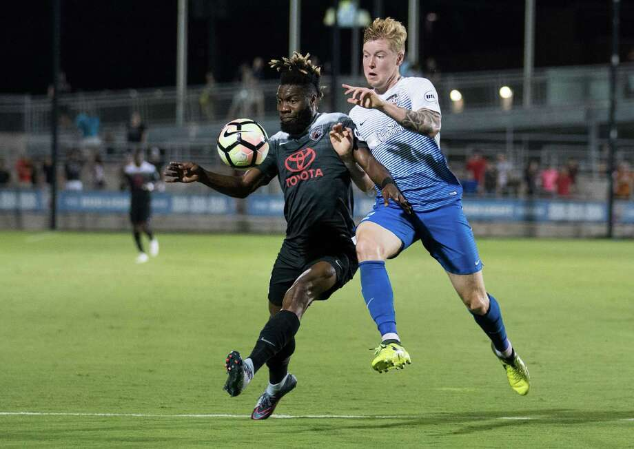Rio Grande Valley Toros FC play San Antonio FC during the first half of a USL soccer match, Saturday, Oct. 14, 2017, at Toyota Field in San Antonio. Photo: Darren Abate /USL / Darren Abate Media LLC