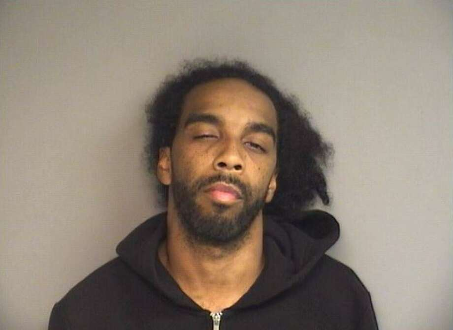 Lamar Taylor, 30 was charged with gun possession Saturday. Photo: Stamford Police Department Facebook
