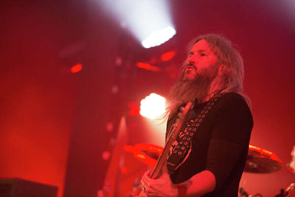 Mastodon ripped into San Antonio Saturday night at the Aztec Theatre, Oct. 14, 2017, with the relentless metal style that has garnered them a legion of fans.