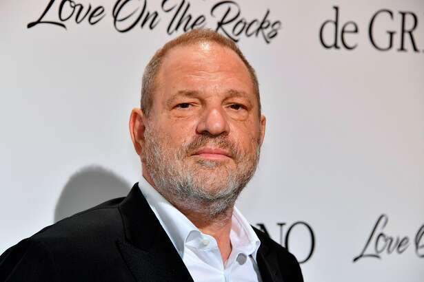 "(FILES) This file photo taken on May 23, 2017 shows US film producer Harvey Weinstein posing during a photocall as he arrives to attend the De Grisogono Party on the sidelines of the 70th Cannes Film Festival, at the Cap-Eden-Roc hotel in Antibes, near Cannes, southeastern France.  The Academy of Motion Picture Arts and Sciences has expelled Harvey Weinstein, it said on October 14, 2017, amid mounting sexual harassment, assault and rape accusations against the disgraced Hollywood mogul. An emergency meeting of its board ""voted well in excess of the required two-thirds majority,"" it said in a statement.  / AFP PHOTO / Yann COATSALIOUYANN COATSALIOU/AFP/Getty Images"