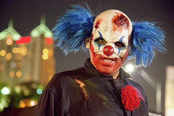 Downtown's Psycho Asylum drew large crowds eager for chills and thrills this weekend as Halloween fun continues to overtake San Antonio.