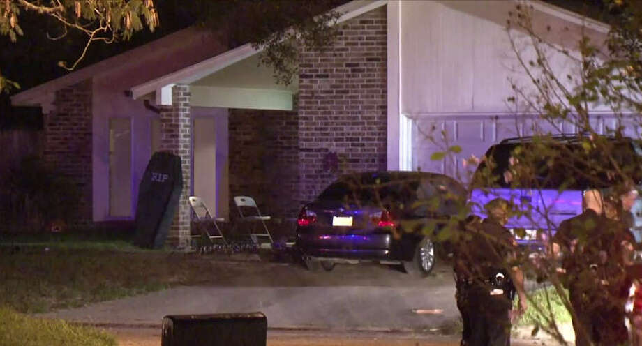 A woman was shot in the face during an overnight domestic incident. Photo: Metro Video