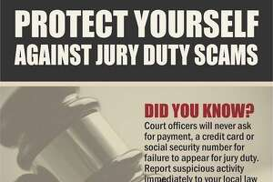 """Fairfield Police are warning residents of a """"jury duty scam"""" sweeping the region.Image courtesy of the Fairfield Police Department."""