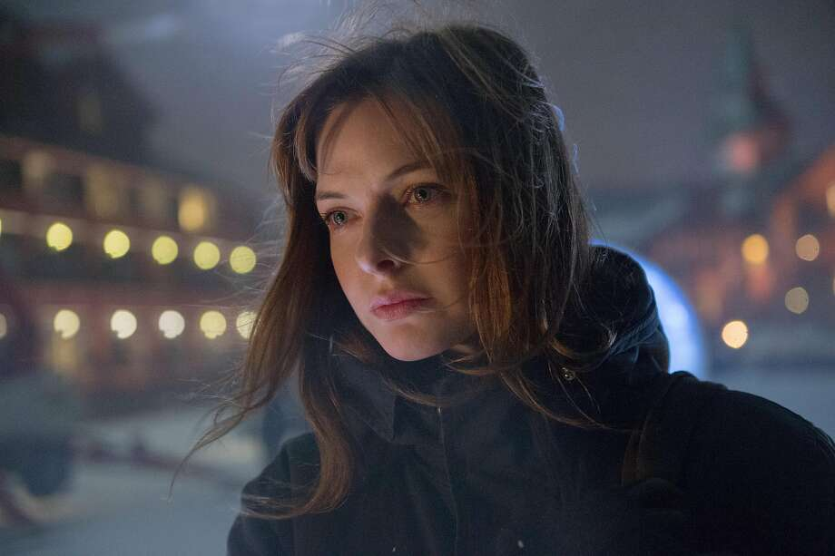 "REBECCA FERGUSON in the terrifying thriller ""The Snowman."" Photo: Jack English"