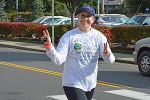 More than 430 runners and walkers took part in The Ninth Annual 5K Walk/Run to Benefit the Center for Cancer care at Griffin Hospital on Sept. 30, raising more than $46,000 for the Center's patient support programs. Photo courtesy of Griffin Hospital.