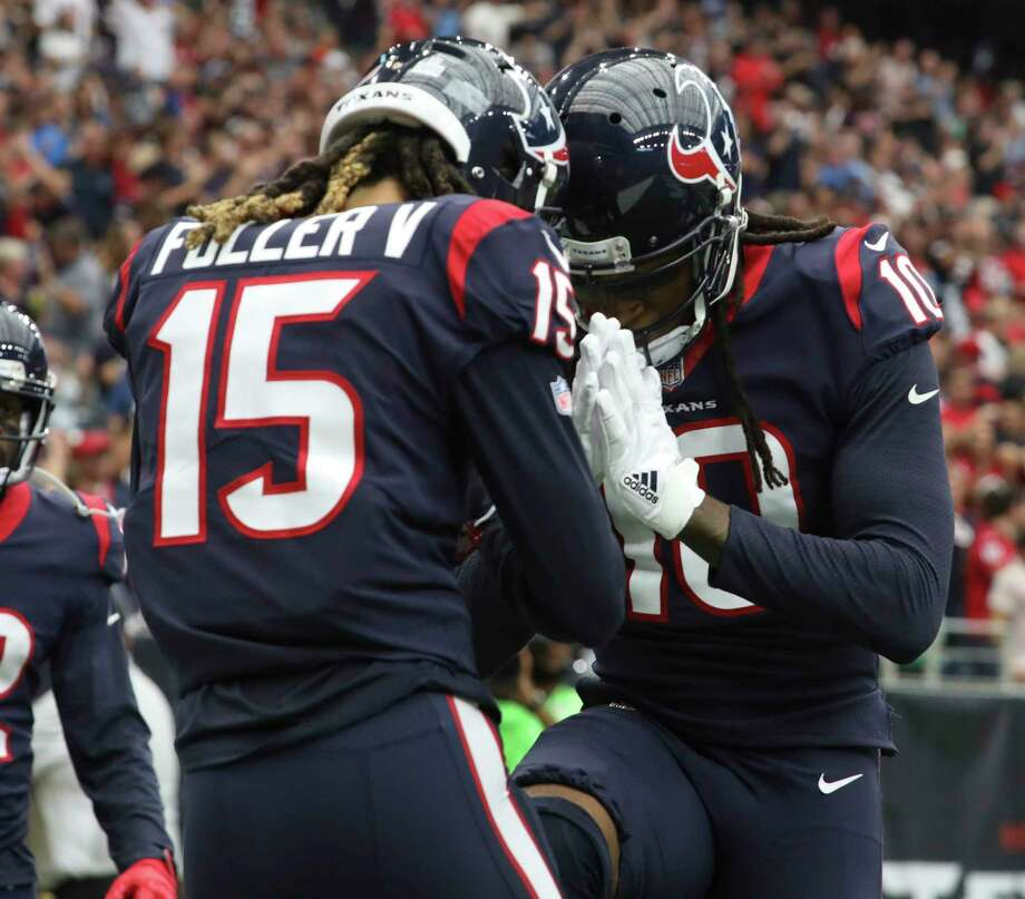 Texans wide receiver DeAndre Hopkins and Will Fuller will need to have big games to help them pull out a win in Seattle.Click through the gallery to revisit the Texans' biggest road wins. Photo: Yi-Chin Lee, Houston Chronicle / © 2017 Houston Chronicle