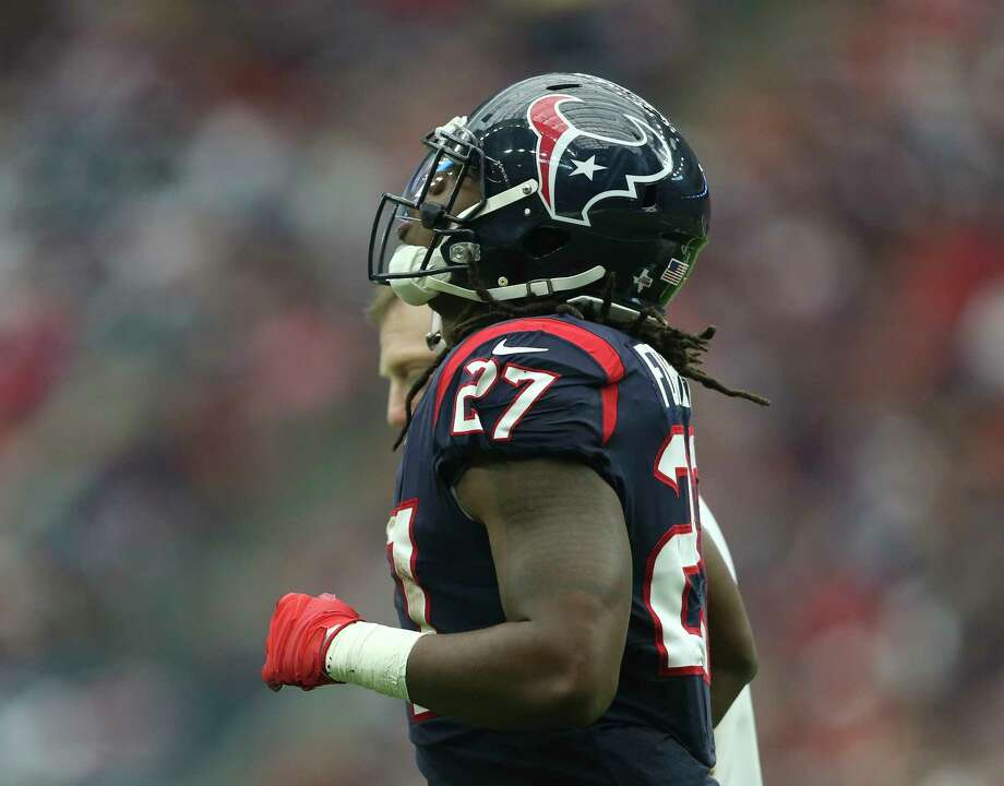 Texans running back D'Onta Foreman (27) skipped practice Friday because of comments made by owner Bob McNair that compared NFL players to 'inmates' in a prison. Photo: Yi-Chin Lee, Houston Chronicle / © 2017 Houston Chronicle