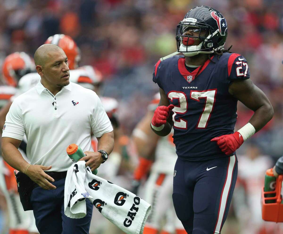 Texans rookie running back did not get any carries in Sunday's loss to the Seahawks, but he and coach Bill O'Brien said it had nothing to do with Foreman being upset and skipping Friday's practice over comments made by owner Bob McNair.