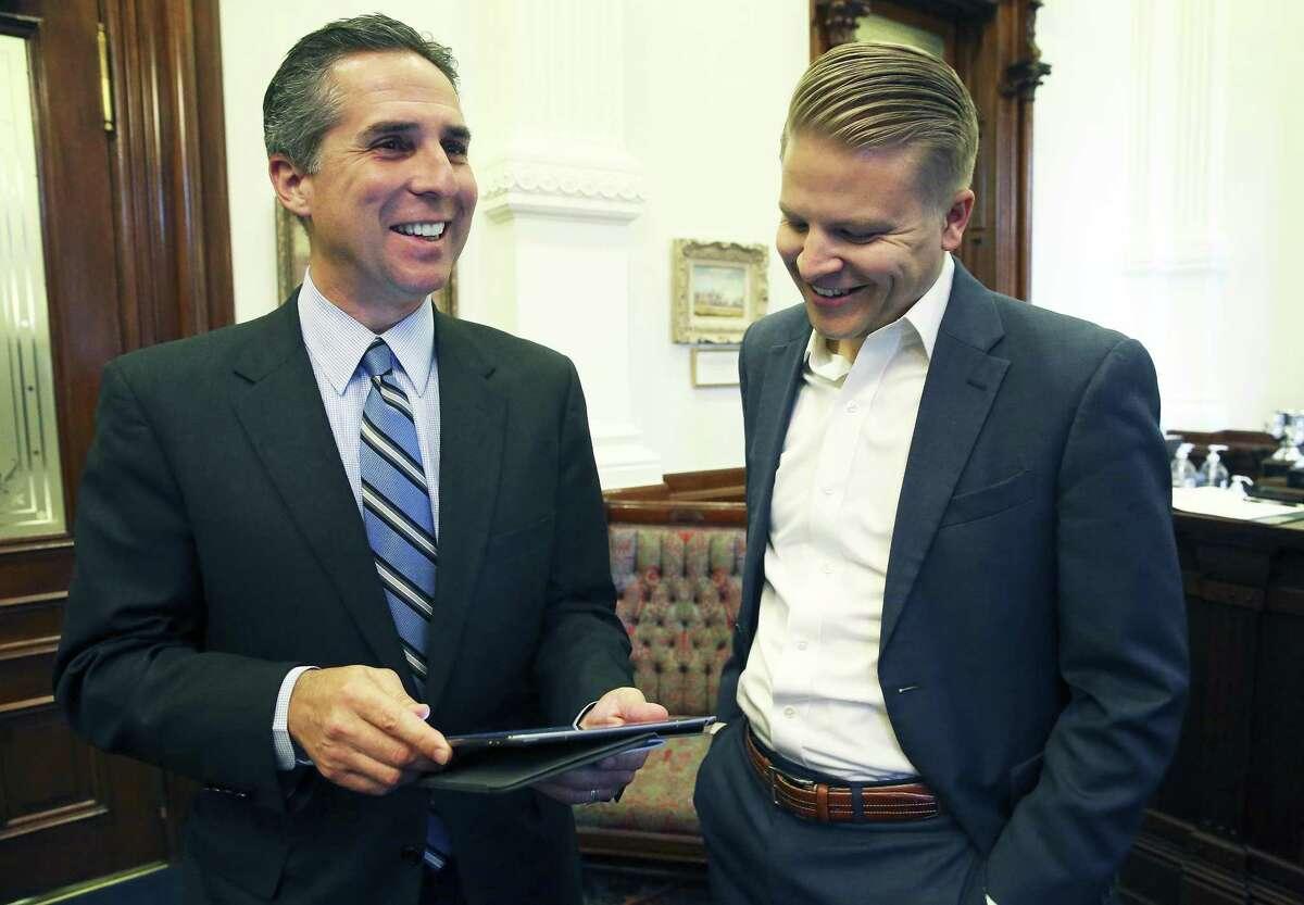 Abbott Communications Director Matt Hirsch earns $265,000.