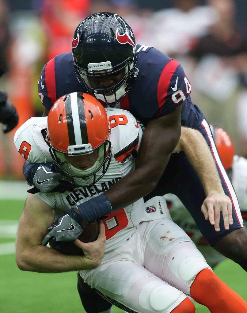 Texans defense steps up without J J Watt Whitney Mercilus
