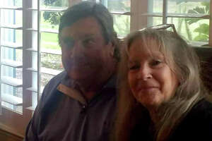 Veronica McCombs and her husband Donald.