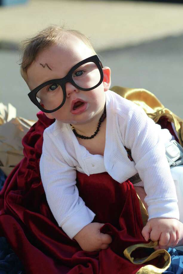 Calvin Lee was an adorable Harry Potter in the Trinity Valley Exposition Baby Parade in Liberty on Saturday, Oct. 14. Photo: Vanesa Brashier