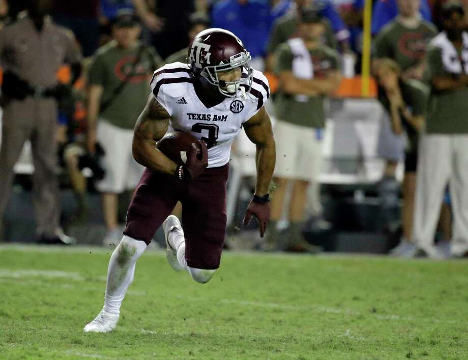 Even though he's likely bound for the NFL draft, Texas A&M junior Christian Kirk has never given a second thought to not playing in the Belk Bowl. Photo: John Raoux, STF / Copyright 2017 The Associated Press. All rights reserved.