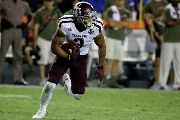 Texas A&M's Christian Kirk returned a punt 43 yards to the Florida 39-yard line in the final minute to set up kicker Daniel LaCamera's game-winning field goal for the Aggies' 19-17 come-from-behind win Saturday.