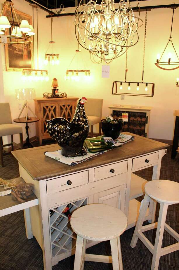 A display at the new lighting and home decor store  Photo  Jean Falbo. Valley Lighting and Home D cor celebrates grand reopening in