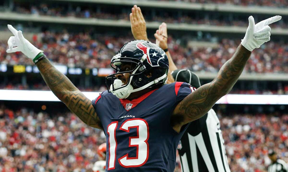 Texans wide receiver Braxton Miller (13) suffered a mild concussion last weekend against the Titans but is trending toward a return for Sunday's game against San Francisco.