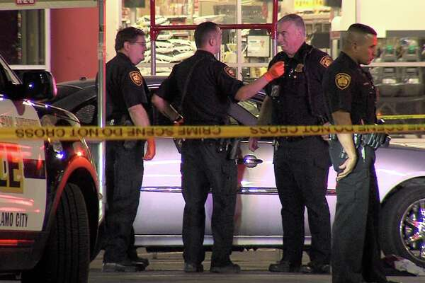 It is unclear when and where the victims were shot, but about 1:20 a.m., they drove into the parking lot of an H-E-B in the 6500 block of Farm-to-Market Road 78 and called for help.