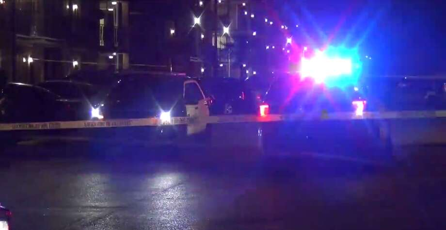 At least two people - including a 4-year-old - were killed late Sunday during a shooting in Gulfton. (Metro Video) Photo: Metro Video