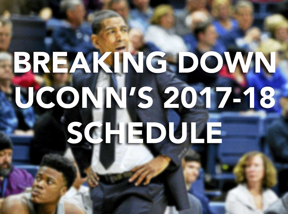 Continue ahead for a look at UConn's upcoming schedule Photo: Jessica Hill/AP
