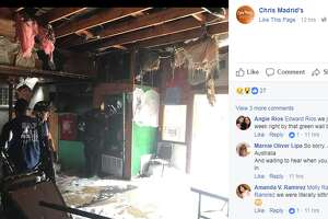 Chris Madrid's customers were shocked to learn that the popular burger joint caught fire Sunday morning while the business was closed.   Owner Richard Peacock shared an update on the damage Sunday night, reporting no injuries, via Facebook.