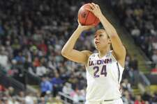 UConn's Napheesa Collier was voted the AAC preseason player of the year.