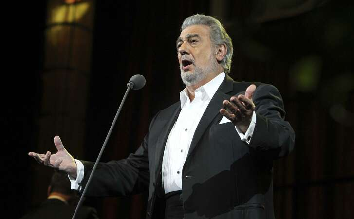 Opera singer Placido Domingo performs at San Antonio's AT&T in 2011. Domingo will appear in a Tricentennial concert Jan. 24 in San Antonio at the Lila Cockrell Theatre.