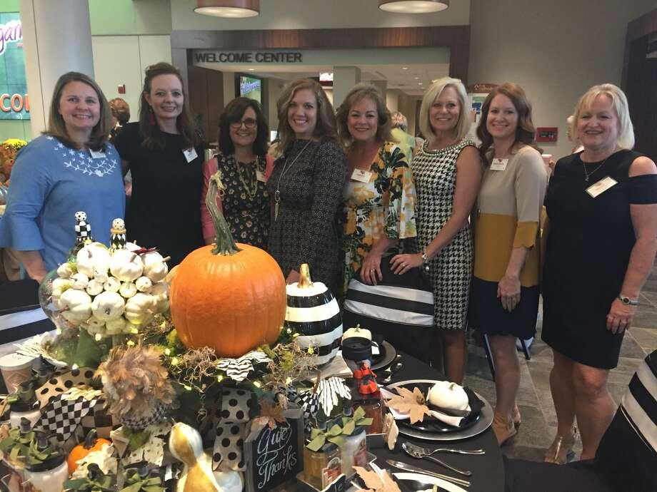 Fall Extravaganza: Stephanie McClure, from left, Buffy Meador, Kim Cremer, Courtney Goodwin, Carole Clayton, D'Yon Butler, Marybeth Jordan and Kelley McCullough Photo: Courtesy Photo