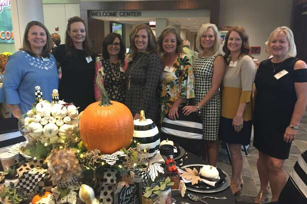 Fall Extravaganza: Stephanie McClure, from left, Buffy Meador, Kim Cremer, Courtney Goodwin, Carole Clayton, D'Yon Butler, Marybeth Jordan and Kelley McCullough
