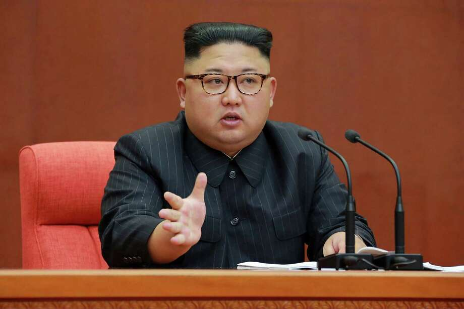 One of the hacked plans was about South Korea's plan to remove North Korean leader Kim Jong Un. Photo: STR /AFP /Getty Images / AFP